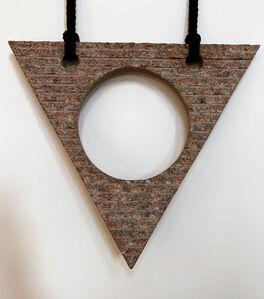 Jesús Bautista Moroles, 'Triangle', 1980-1990