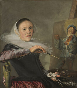 Judith Leyster, 'Self-Portrait', ca. 1630