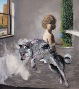 Steven Fragale, 'Cypress and the Wolf', 2018