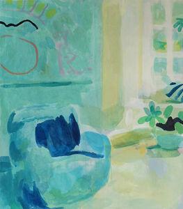 Tim Braden, 'Interior with Blue Armchair (Patrick Heron)', 2016