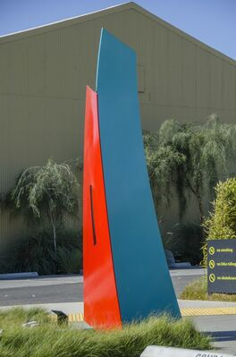 Agensys Inc.   Public Sculptural Commission, installation view