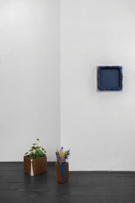 Painting and Resting, installation view