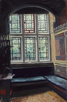 """Hector McDonnell, """"Great Interiors"""", installation view"""
