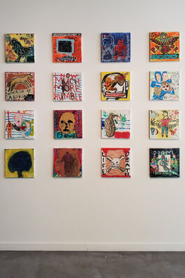 117.5 Ideas for Tattoos, installation view