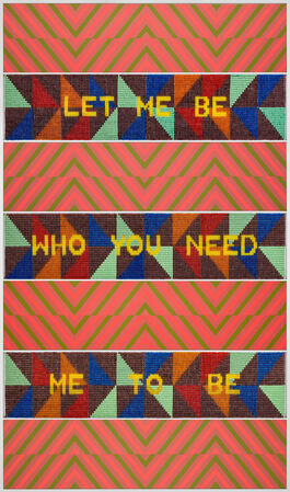 LET ME BE WHO YOU NEED ME TO BE