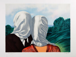 René Magritte, 'Les Amants (The Lovers)', 2010