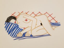 "Tom Wesselmann, '""Monica Asleep on Blanket""', 1985/ 2004"