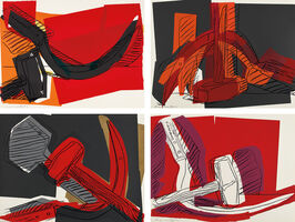 Andy Warhol, 'Hammer and Sickle', 1977