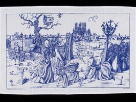 "Grayson Perry, '""THE CHARMS OF LINCOLNSHIRE"" (BLUE VERSION)', 2006"