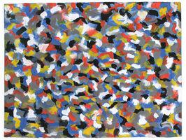 Sol LeWitt, 'Squiggly Brushstrokes', 1997