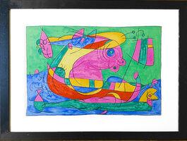 Joan Miró, 'UBU Roi (plate 13) ', 1966