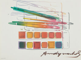 Andy Warhol, 'Watercolor Paint Kit', 1982