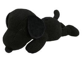 KAWS, ''Snoopy' (black) Large Plush Figure (w/Uniqlo)', 2017