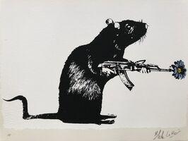 Blek le Rat, 'The Warrior - Artist Proof', 2018