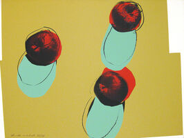 Andy Warhol, 'Space Fruit: Still Life (Apples)', 1979