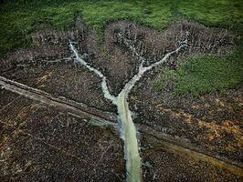 Edward Burtynsky, 'Oil Bunkering #2, Niger Delta, Nigeria', 2016