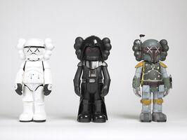 KAWS, 'Star Wars Companions (set of three)', 2007