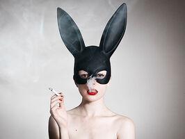 Tyler Shields, 'Bunny', 2015