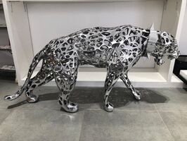 Richard Orlinski, 'Lace panther with collar', 2019