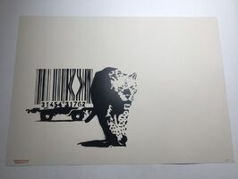 Banksy, 'Barcode (Signed)', 2003