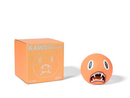 KAWS, 'CAT TEETH BANK (Orange)', 2007