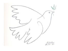 "Pablo Picasso, 'Lithograph ""Peace Dove"" after Pablo Picasso', 1961"