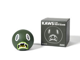 KAWS, 'CAT TEETH BANK (GREEN)', 2007