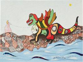 Niki de Saint Phalle, 'Strength Card No. 11, from Tarot Cards', 1998