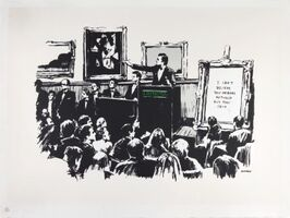 Banksy, 'Morons', 2006