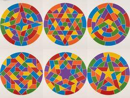 Sol LeWitt, 'Tondo Stars', 2002