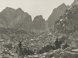 Ansel Adams, 'Down Bishop Pass, Sierra Nevada, California', 1930