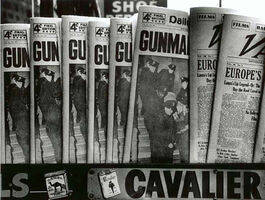 William Klein, 'Gun, Gun, Gun, New York', 1955