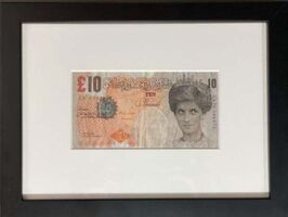 Banksy, ' Banksy Di - Faced Tenner Sold Out Mint Condition ', 2004