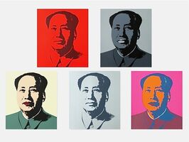 Andy Warhol, 'Mao Suite (Sunday B. Morning), 5 Silkscreen Artworks', 1970-2020