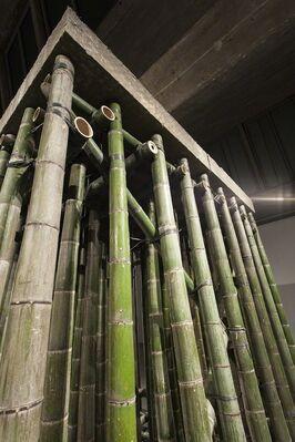 Xiao Yu: Cement Floor, installation view