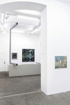 Vom Hunger nach Bildern curated by Gerald Matt, installation view