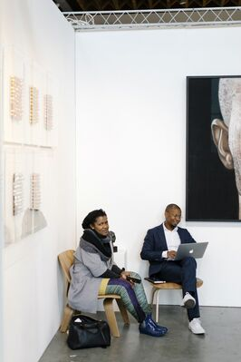 TAFETA at 1:54 Contemporary African Art Fair New York 2017, installation view