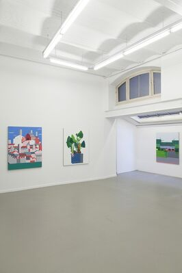 Fox Hill Road, installation view