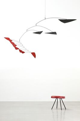 Calder / Prouvé Vol.2, in collaboration with Gagosian Gallery, installation view