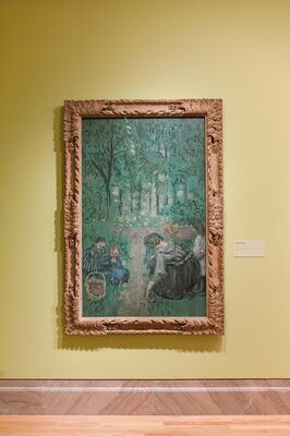 Pierre Bonnard: Painting Arcadia, installation view