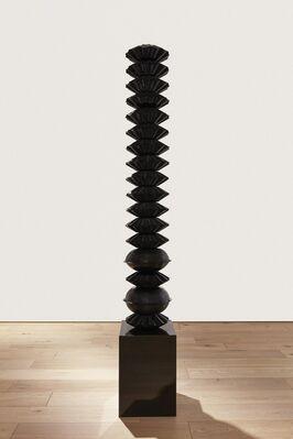 """GREGOR HILDEBRANDT """"BILDER MALEN WIE CURE"""", installation view"""