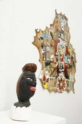Umar Rashid (Frohawk Two Feathers) : That Ain't Gold , That's A Soul, installation view