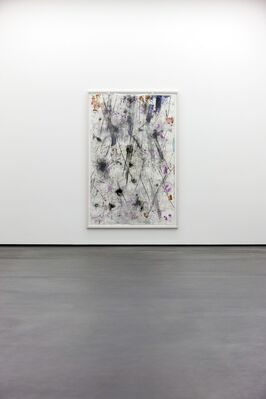 HUBERT SCHEIBL <RECENT PAINTINGS & DRAWINGS>, installation view