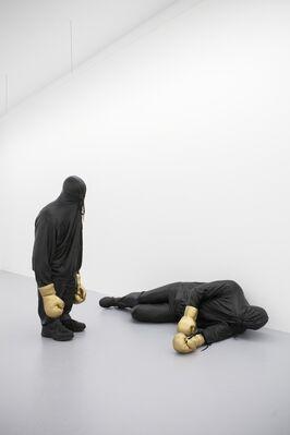 Mark Jenkins 'Knock Knock', installation view