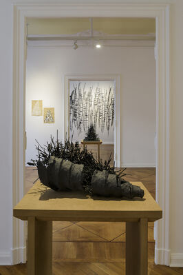 The Black Tower, installation view