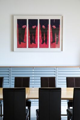 Art Edition-Fils at London Original Print Fair 2016, installation view