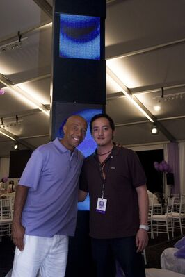 Russell Simmons' Art For Life in Hamptons, installation view
