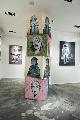 Myanmar New Wave - Pop Art Revisited, installation view