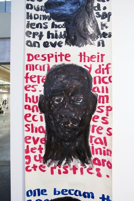 Kristin Hjellegjerde Gallery at VOLTA13, installation view