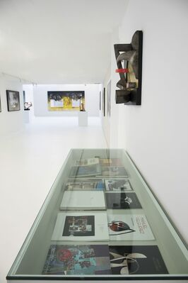 Felguérez, installation view